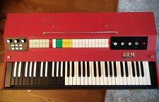 Vintage Organo Combo GEM piano portable organ sintetizzatore