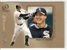 MAGGLIO ORDONEZ SERIAL #17/250 2001 FLEER LEGACY ULTIMATE 25 CHICAGO WHITE SOX