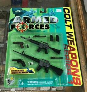 "Toyz ARMED FORCES 1/6 Scale COLT WEAPONS Series 1 for 12"" Action Figure"
