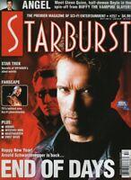 Starburst Magazine Arnold Schwarzenegger End Of Days January 2000 022321nonr