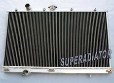 2 ROW Aluminum Radiator for Mitsubishi Lancer Evolution EVO 4 5 6 IV V VI