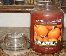 Yankee Candle 22 oz Jar Candle Spiced Pumpkin Food & Spice Collection NEW RARE