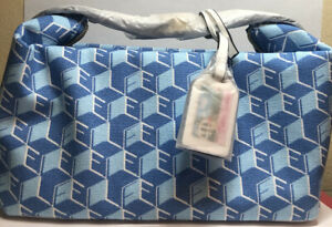 Aerin / Estee Lauder Signature Cosmetic Bag w/Print LIGHT BLUE GWP NM New
