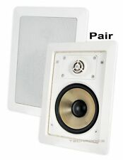 JBL SP5II 5 INCH 2-WAY IN-WALL HOME LOUDSPEAKER WITH SWIVEL MOUNT TWEETER (PAIR)