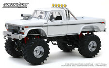 1:18 Greenlight 1979 Ford F250 Monster Truck white with 48 inch tires GL13556