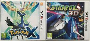 Pokémon X and StarFox 64 3D (Nintendo 3DS Bundle)