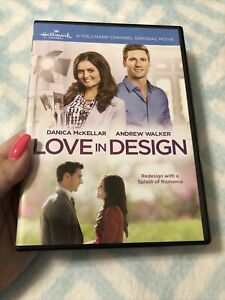 Love in Design (Danica McKellar, Andrew W. Walker) HALLMARK MOVIE DVD