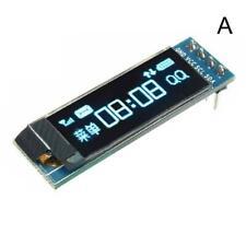 0.91/0.96'' IIC I2C Blue OLED LCD Display DIY Module 5V For PIC DC3.3V T8B8