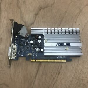 Asus GeForce 8400 EN8400GS Silent Graphics Card VGA S-Video DVI 256MB