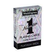 Classic Platinum Waddingtons Number 1 Playing Cards