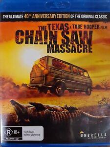 The Texas Chain Saw Massacre Blu-ray