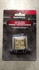 New Radio Shack Power Transformer 12.6V 300mA pc mount terminals