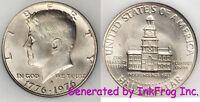 1976 S 40% Silver Kennedy Half Dollar Gem Bu