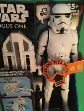 """Stormtrooper 12"""" 1/6 scale interactive ELECTRONIC Action Figure Star Wars SOUNDS"""