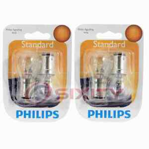 2 pc Philips Parking Light Bulbs for Mitsubishi 3000GT 1994-1998 Electrical uy