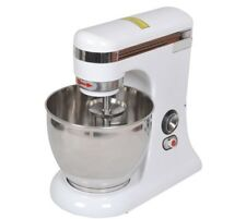 Quattro 7ltr Countertop Planetary Mixer + FREE Dough Hook, Beater and Whisk