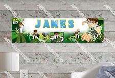 Personalized/Customized Ben Ten Name Poster Wall Art Decoration Banner