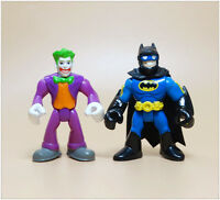 LOT 2 DC Fisher Price Imaginext DC Comics Super Friends Batman THE JOKER 2.5""