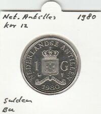 Netherlands Antilles 1 gulden 1980 BU - KM12