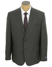 Jacket Vince Camuto Size 40 L Mens Charcoal Gray Nailhead Wool Sportscoat Blazer