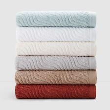 NEW Kassatex Marseilles 100% Cotton 7-PC Hand Towel/Washcloth Set Ivory G2120