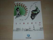 48906) Piaggio Liberty 125 CC Prospekt 199?