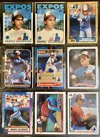 Andres Galarraga - 1980's - 1990's Misc Card Lot