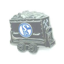 FC Schalke 04 Pin Kohlewagen Logo Anstecker Fussball Bundesliga #728
