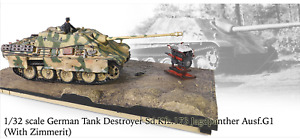 FORCES OF VALOR 1/32 MILITARY JAGDPANTHER NORMANDY 44