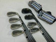 New Callaway Steelhead XR Combo Irons 4H-AW All Graphite Regular flex iron set