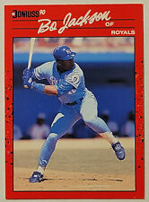 1990 Donruss #61 BO JACKSON - Kansas City Royals - NM/Mint