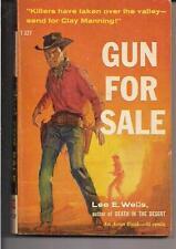 GUN FOR SALE ~ AVON T327 1959 LEE W. WELLS WEST WESTERN