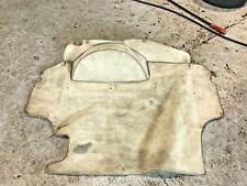 Porsche 944 924S (1985-1991) Boot Carpet Spare Wheel Cover Cream