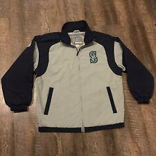Nike Seattle Mariners Stitched Jersey Full Zip Track Jacket Womens Sz Large M