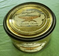Vintage Sherry Pralines Tin by Charlotte Charles Advertising Collectible RARE