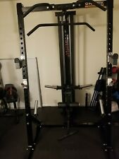 Powertec Work Bench Half-rack, Lat-tower, and 200lb weight stack (LOCAL PICKUP)