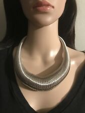 Chico's Silver Slinky Necklace
