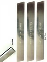 """Set of 10 HSS Blades 1/8""""x 3/4"""" (W) x 6""""  for Lathe Parting Cut off and Holder"""
