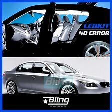 18x No Error Canbus LED Interior Light Package Kit White For BMW E60 E61 5series