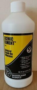 Woodland Scenics S191 Scenic Cement  NEW
