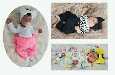 12 baby headbands bow for newborn girlsand toddler. One Size