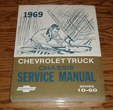 1969 Chevrolet Truck Chassis Service Manual Series 10-60 69 Chevy