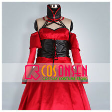 Cosonsen Vocaloid Meiko Cosplay Costume Red Dress All Size Custom Made