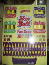 Genco's Skee Ball Backglass, Shipping is available