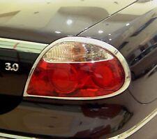 Jaguar S Type Chrome Rear Light Trim 2004 onwards x 2