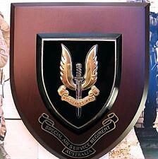 AUST. ARMY SAS SPECIAL AIR SERVICE REGIMENT SPECIAL FORCES UNIT PLAQUE SASR