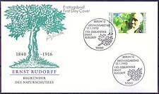 Berlin 1990: Naturschutzbegründer Ernst Rudorff! FDC der Nr. 862! 155