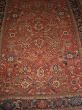 Antique Sultanabad Hand Knotted Persian Rug B-7355