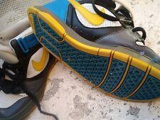 CHEAP Vintage Nike 6.0 Trainers 80's Rap Basketball Beat Box Tri-Colour Blue