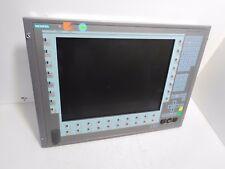 "Siemens Panel 15"" Key 677-877, Siemens A5E00338470, Panel System P9"